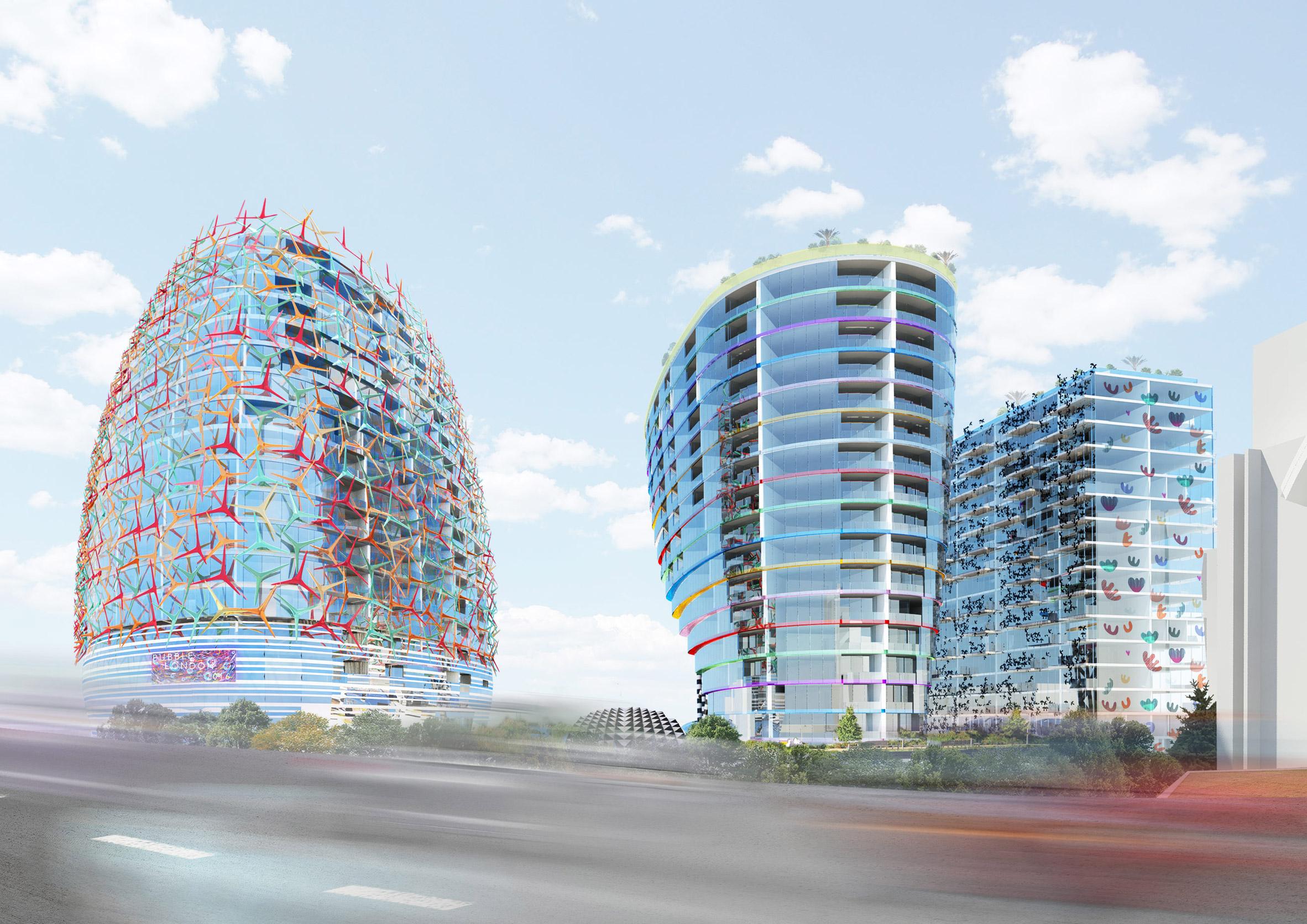 Will Alsop unbuilt architectural proposals