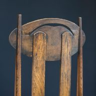 Charles Rennie Mackintosh's Argyle Chair was designed for intimate dining