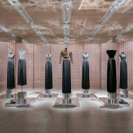 Azzedine Alaïa's Design Museum exhibition teams garments with custom-made screens