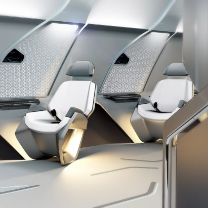 "BMW designs ""human-centric"" Hyperloop One passenger capsule for Dubai network"
