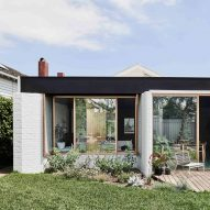 Taylor Knights opens up garden views at Melbourne home with glass-fronted extension