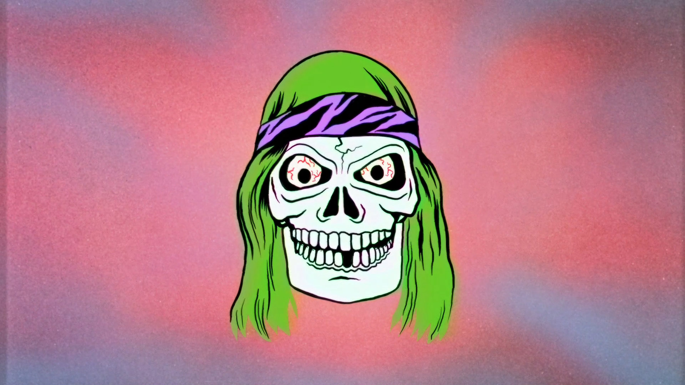 Motorbike-riding ghouls feature in Stevie Gee 80s-inspired animation for Cancer Bats