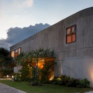 "Casa Roca's curved concrete walls are designed to give an architectural ""hug"""