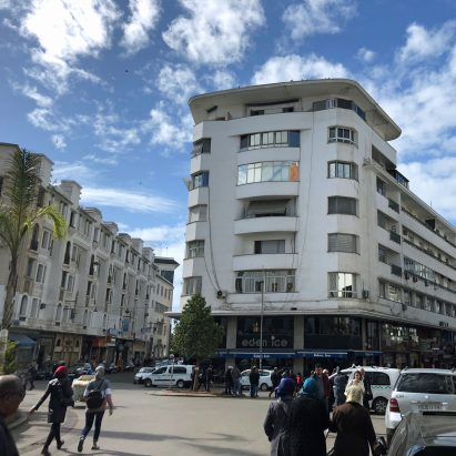 Modernist architecture in Casablanca