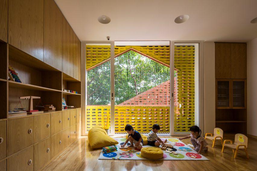 Chuon Chuon Kim 2 Kindergarten by Kientruc O