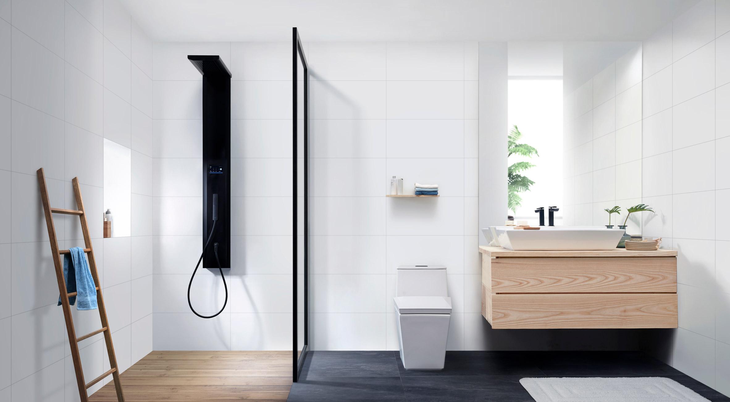 Jacob Jensen Design Creates Minimalist Bathroom Collection