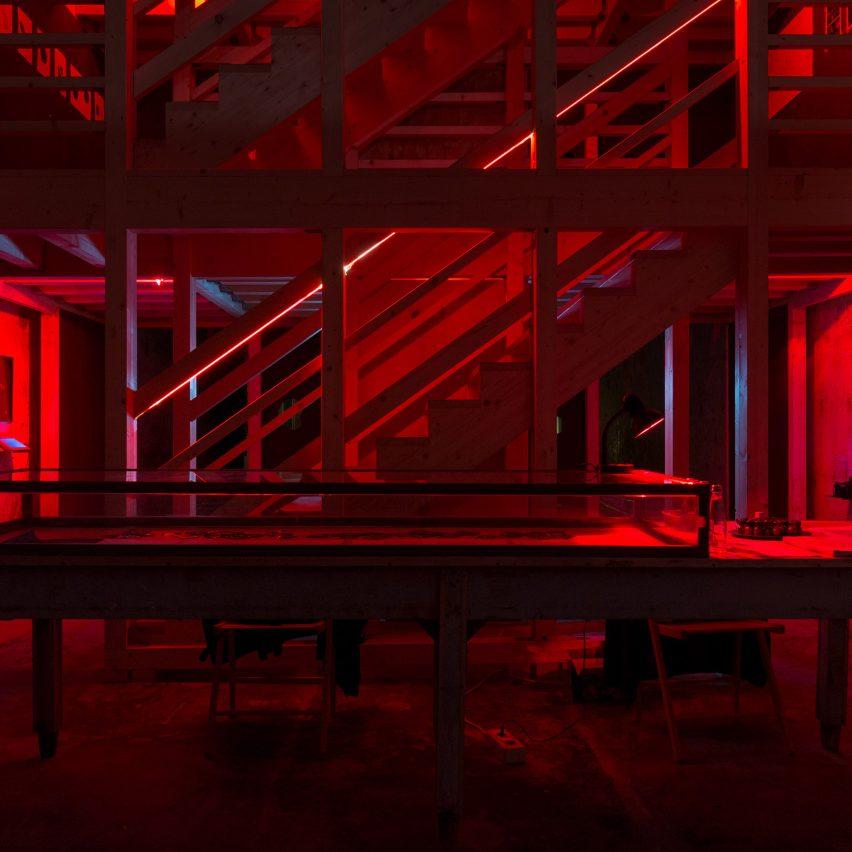 Cruising Pavilion at Venice Architecture Biennale 2018, photos by Louis de Belle