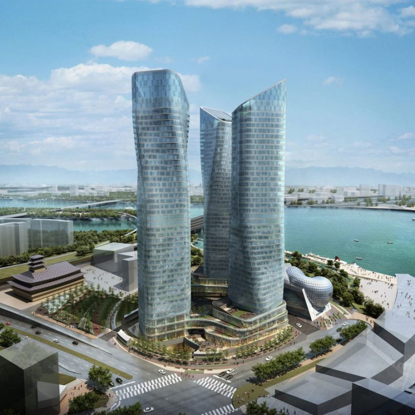 Dancing Towers by Daniel Libeskind