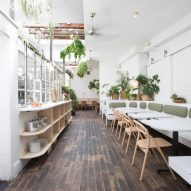 Di An Di restaurant in Brooklyn serves Vietnamese cuisine in plant-filled spaces