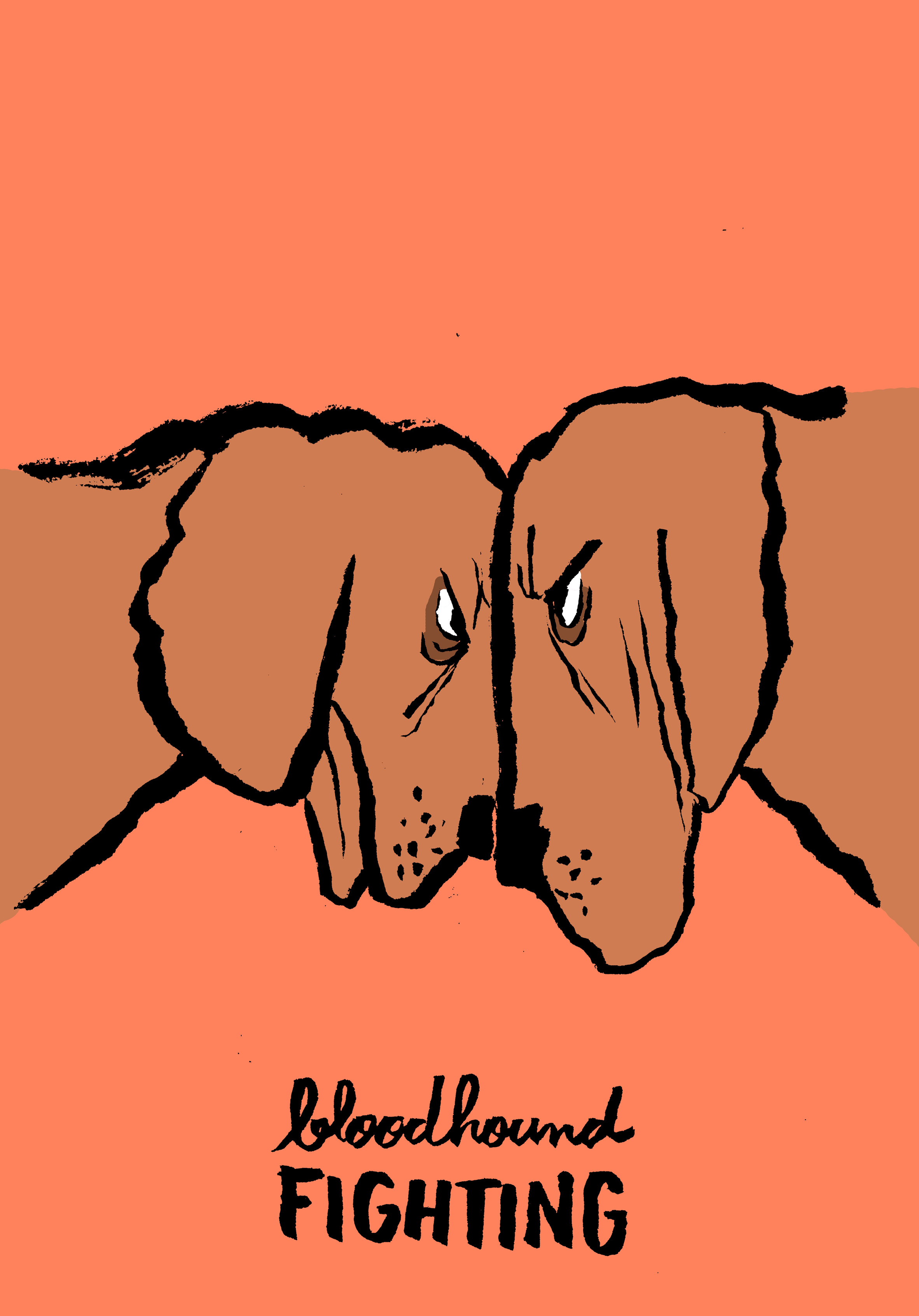 Jean Jullien illustrates card game with playful dogs