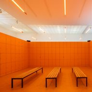 Dutch Pavilion invites you to explore a Narnia-like locker room