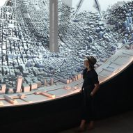 Es Devlin with her Egg installation