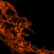 "Researchers create ""fire-alarm wallpaper"""