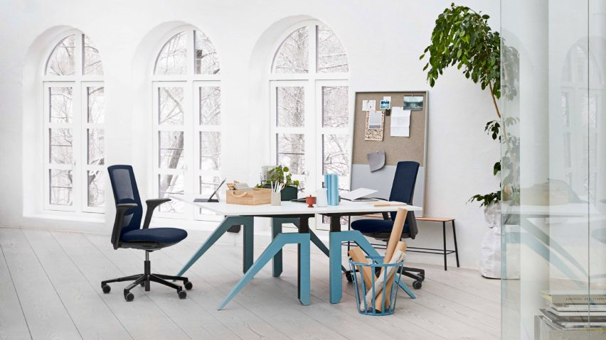"Flokk's HÅG Futu chair is designed to ""seamlessly blend"" into any working environment"