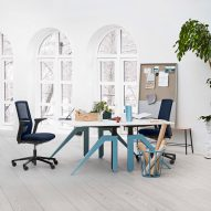 "Flokk's HÅG Futu chairs designed to ""seamlessly blend"" into any working environment"