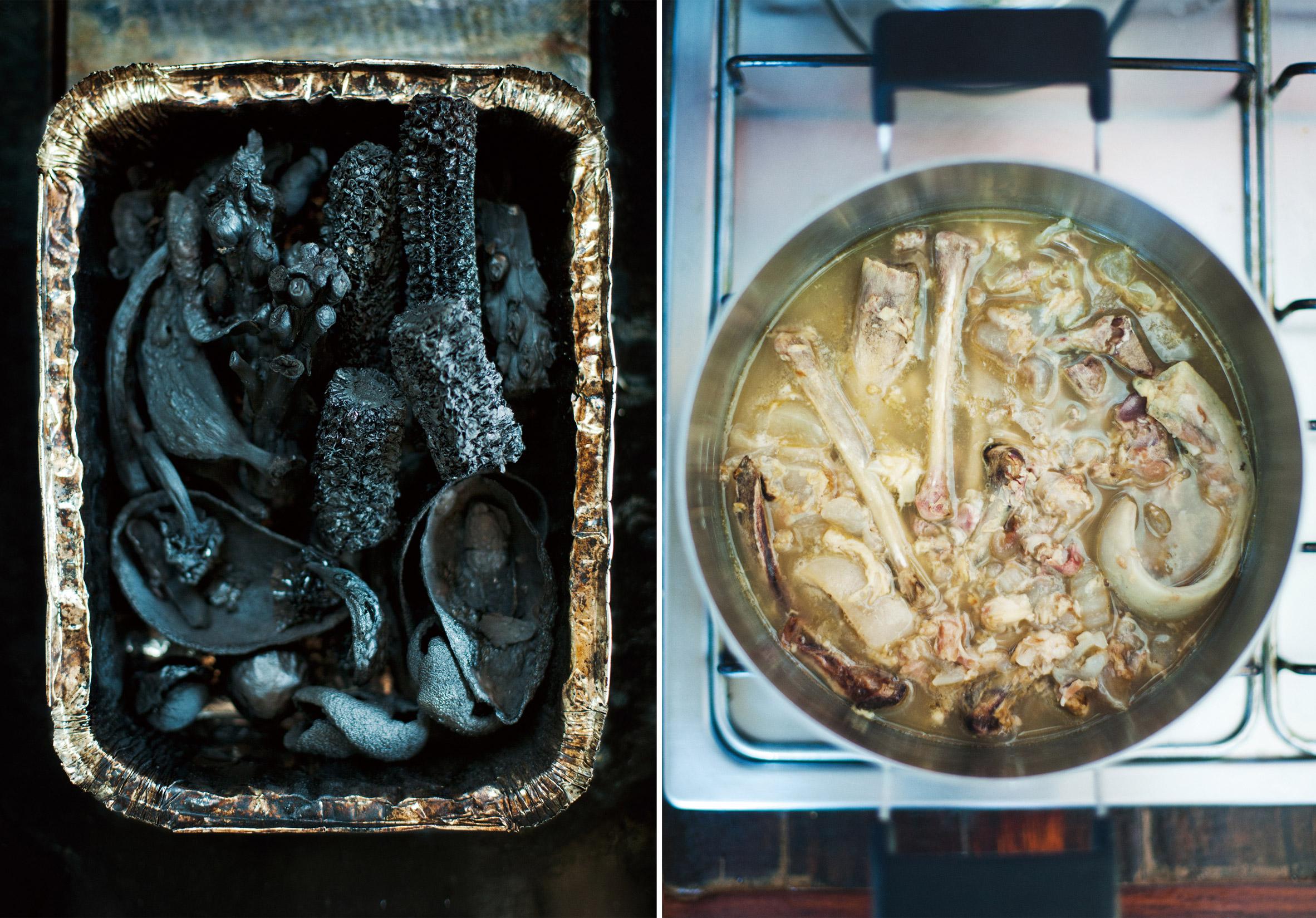 RCA graduate Kosuke Araki has created a range of tableware from recycled food waste.