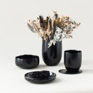 Kosuke Araki turns food waste into tableware