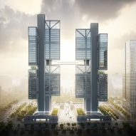 DJI's headquarters designed by Foster + Partners will feature skybridge to showcase drones