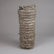 Kris Lamba casts bronze vessels in the form of dissolved polystyrene