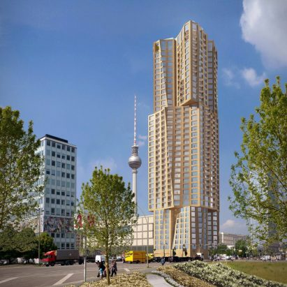 Frank Gehry tower for Berlin stalls