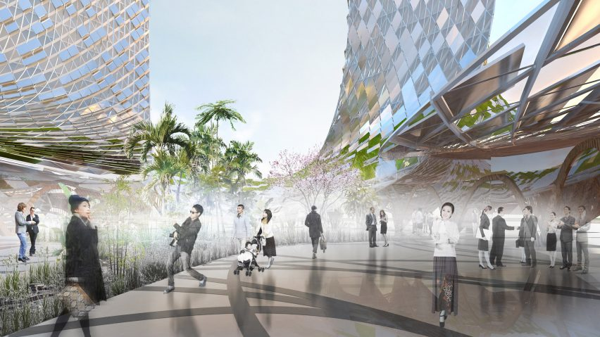 XTU Architects French Dream Towers