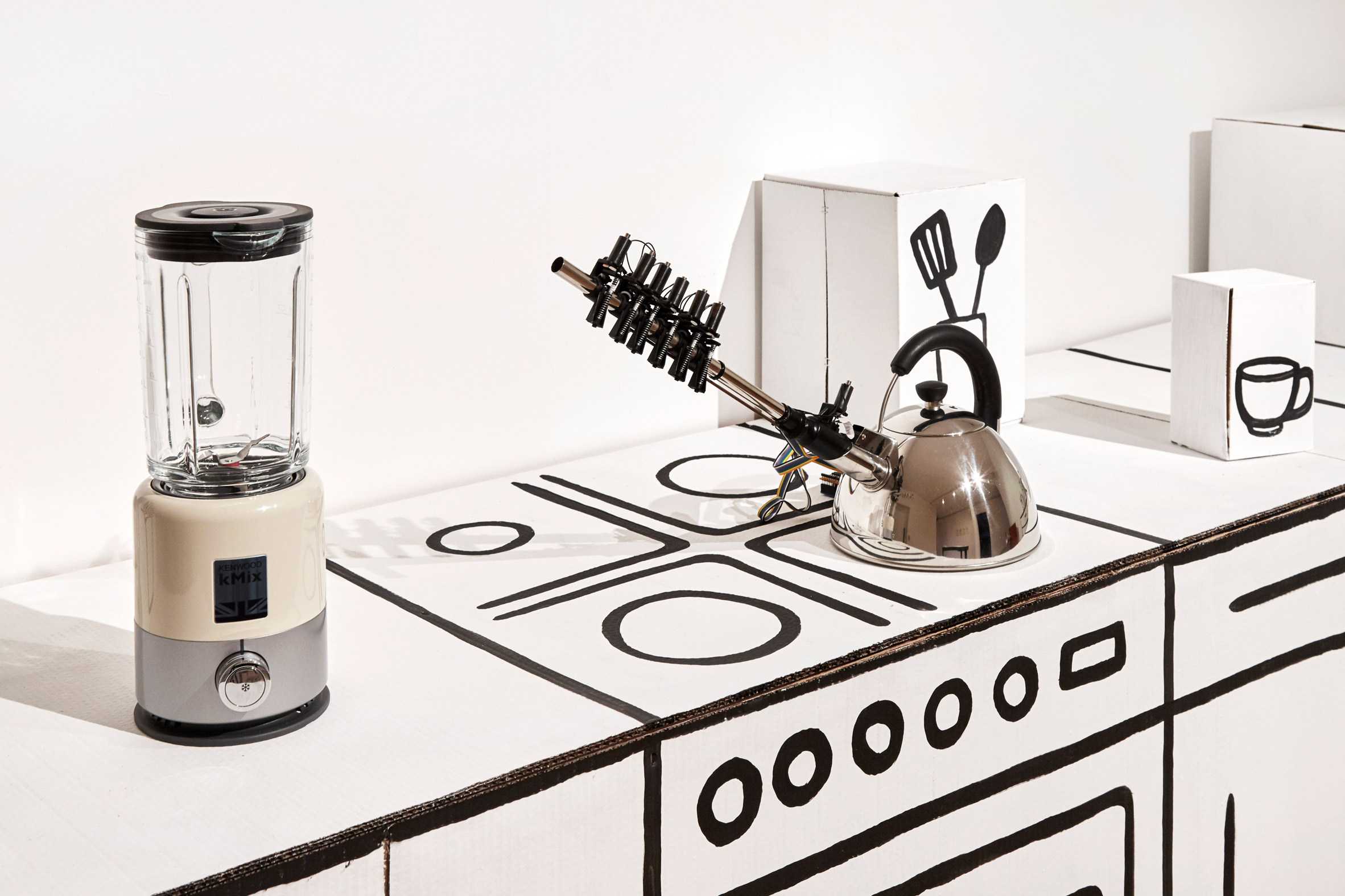 Yuri Suzuki's musical appliances are designed to enhance your mood