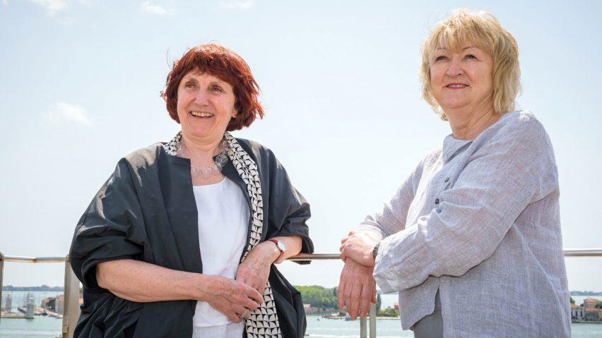 Yvonne Farrell and Shelley McNamara