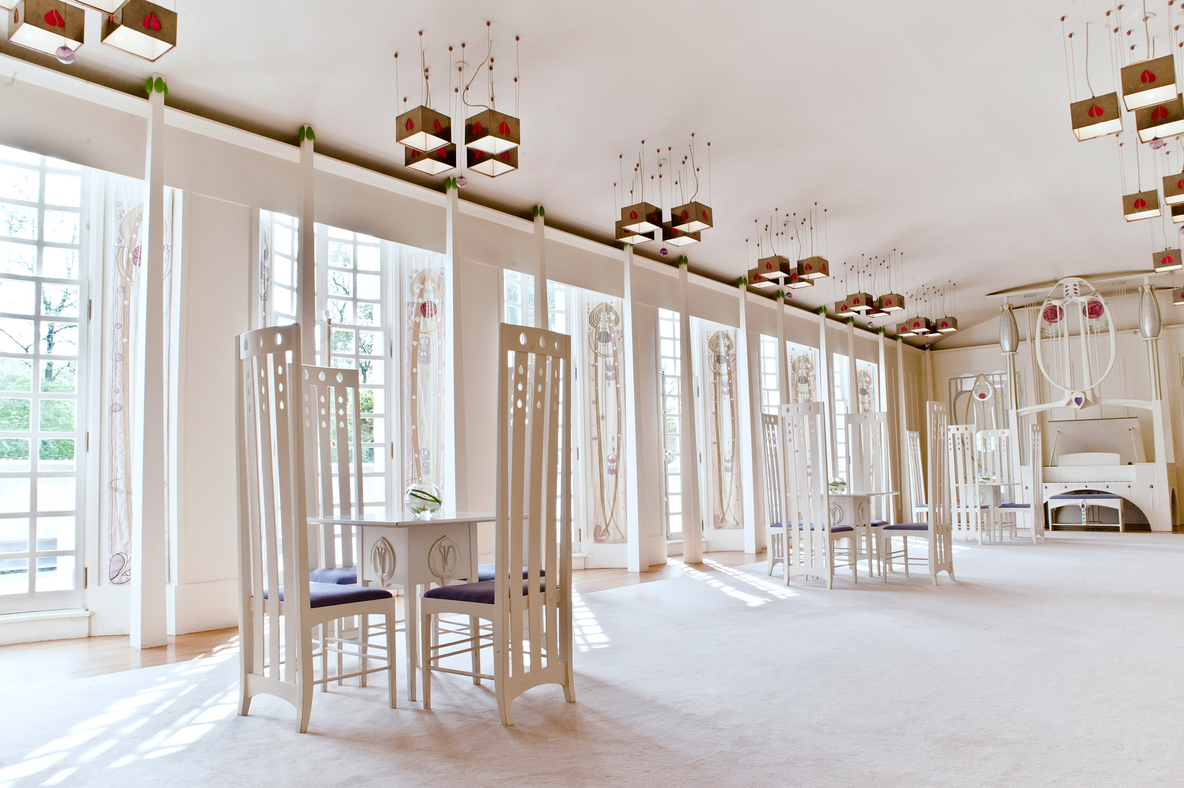 House For An Art Lover Was Built 60 Years After Charles Rennie Mackintosh S