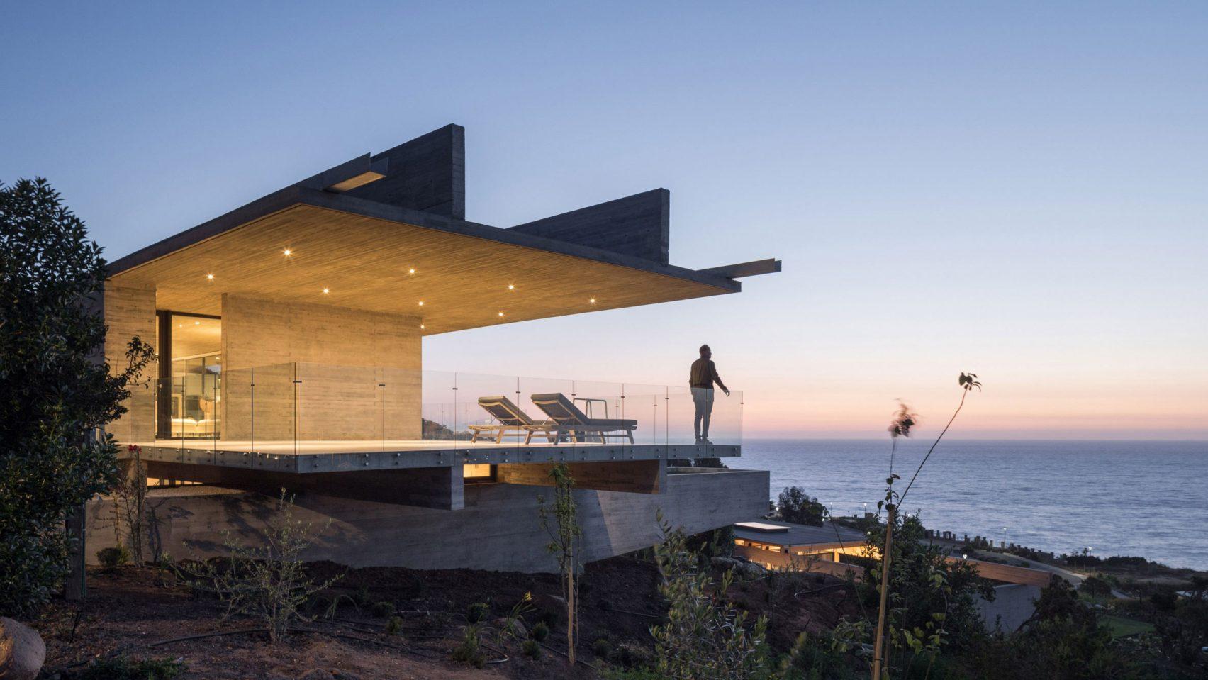 Вытянутый Н House в Чили