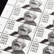 Commemorative Karl Marx stamp celebrates economist's 200th birthday