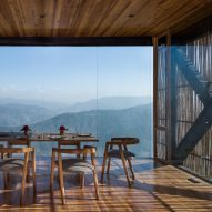 Zowa Architects combines bamboo and glass for The Kumoan hotel in the Himalayas