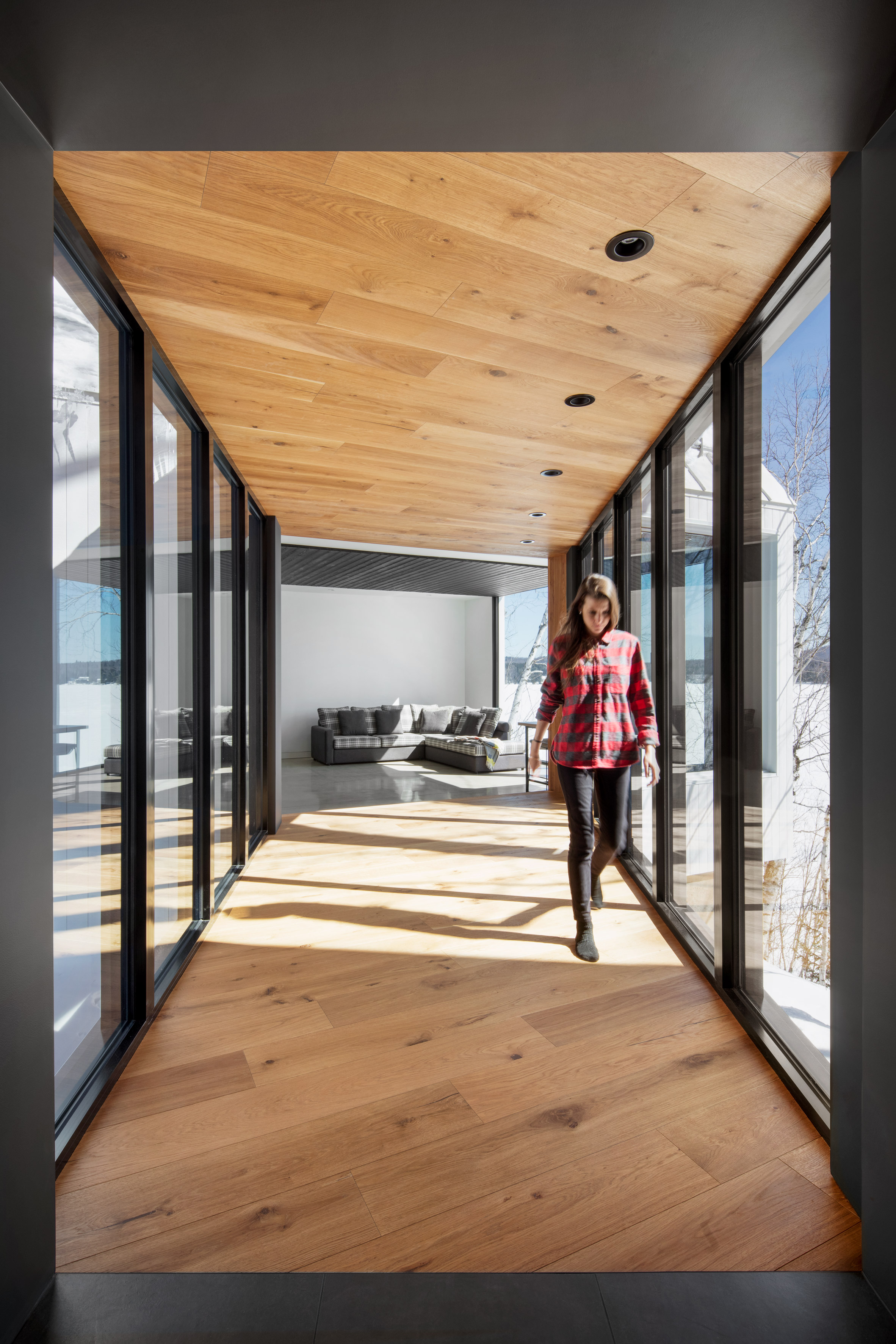 Chalet La petite soeur by ACDF Architecture