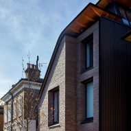 Liddicoat & Goldhill squeezes asymmetric Makers House onto narrow plot in Hackney