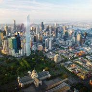 Super-skinny triangular tower proposed as Melbourne's tallest skyscraper