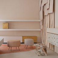 Ciszak Dalmas integrates materials from fashion label's accessories into Madrid store
