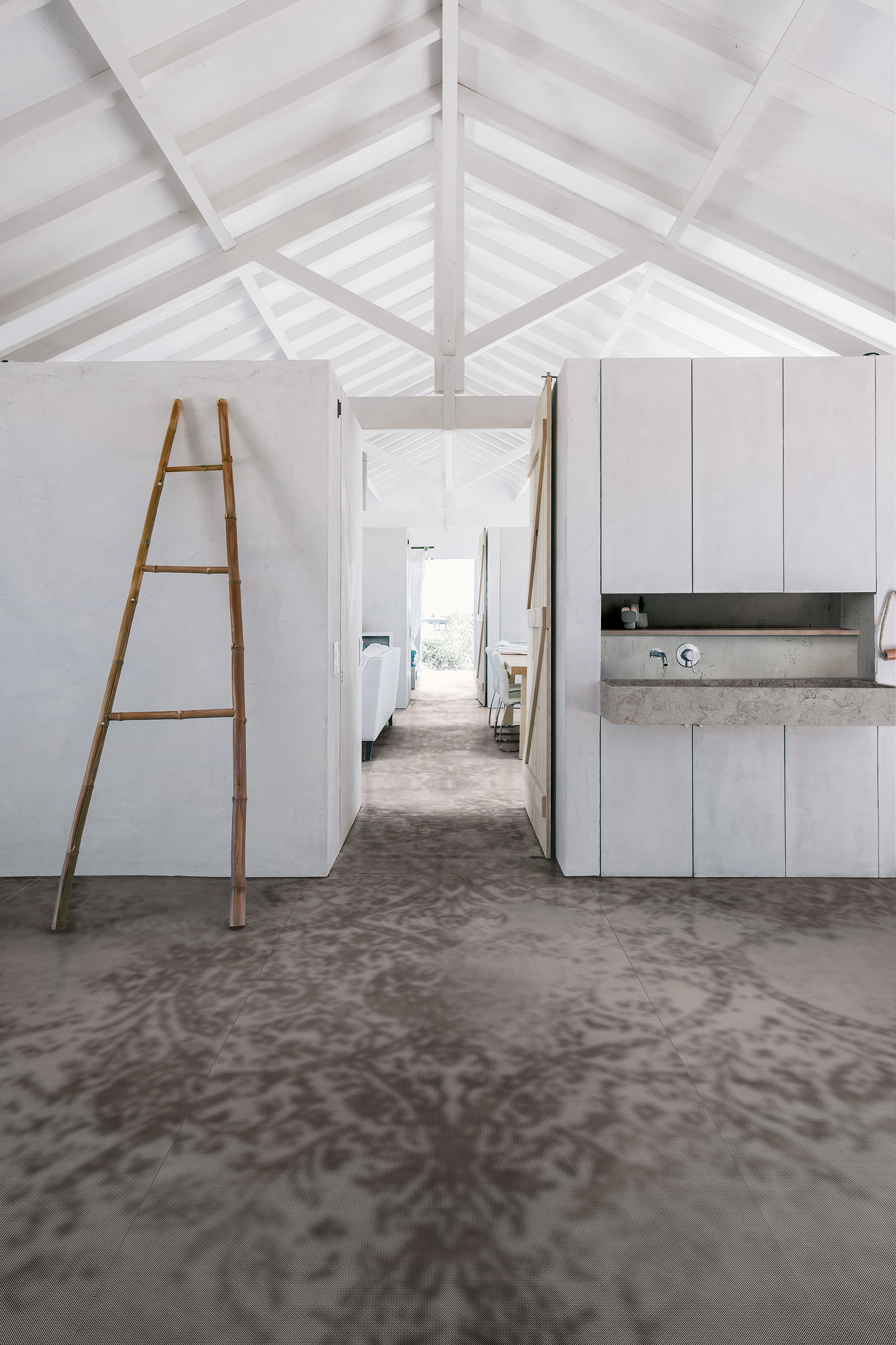 Marazzi creates patterned stoneware for indoor and outdoor use