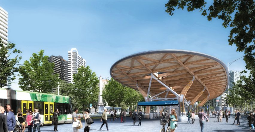 Metro Tunnel project in Melbourne