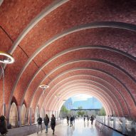 Rogers Stirk Harbour + Partners unveils plans for five new train stations in Melbourne