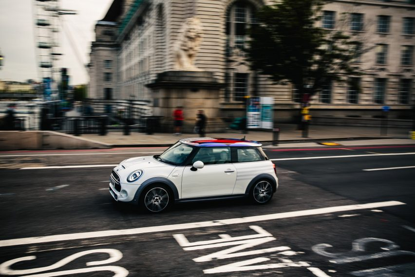 MINI commemorates royal wedding with one-off car design