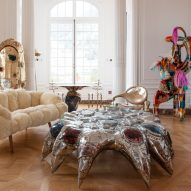 """Misha Kahn unveils jewelled tables and """"animated"""" chairs at Nomad Monaco"""