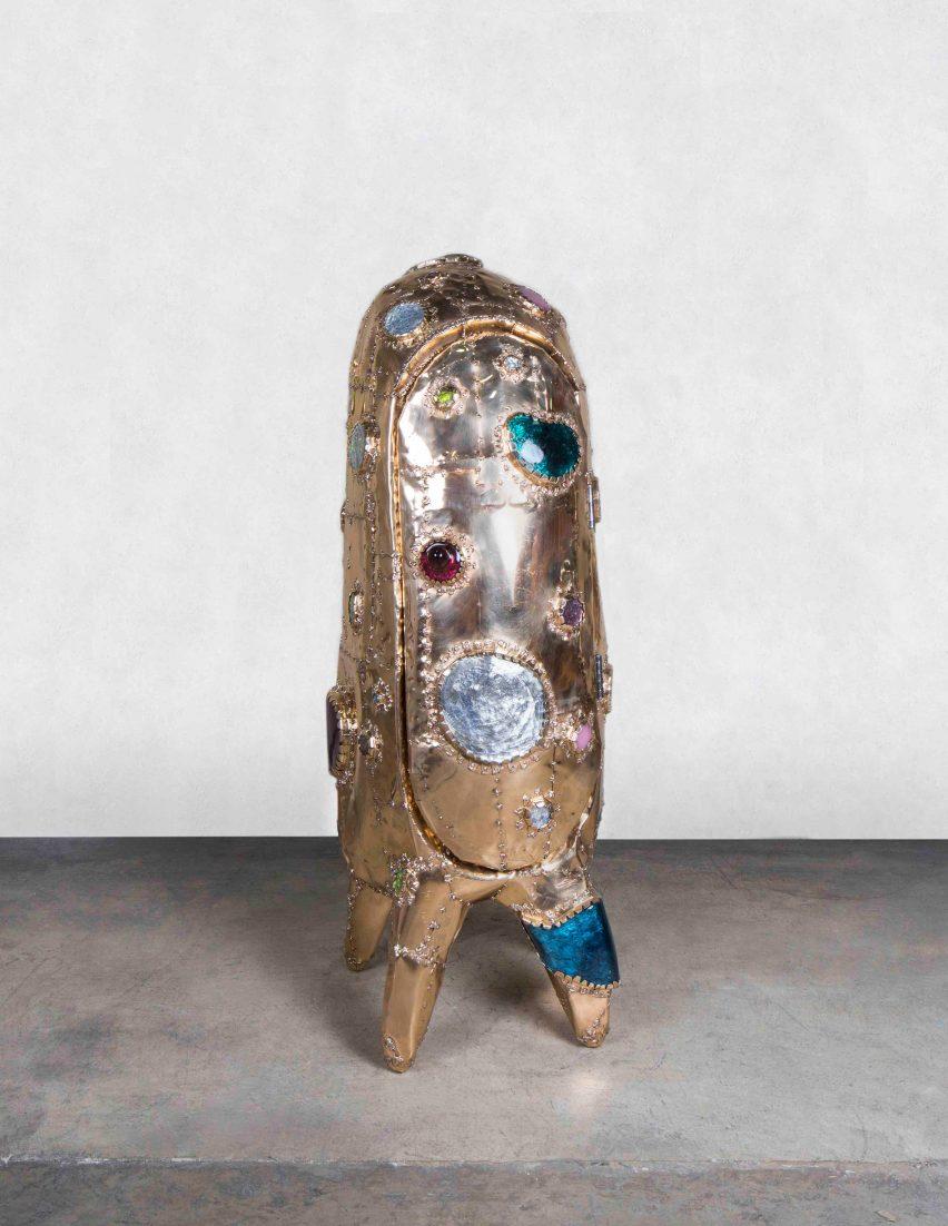 Misha Kahn Kahn's collection formFriedman Bender at Nomad