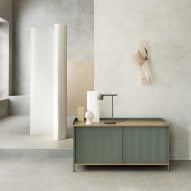 Thomas Bentzen designs factory-inspired sideboard for Muuto