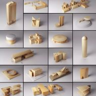 Pritzker Prize-winners' best buildings transformed into animated toy blocks