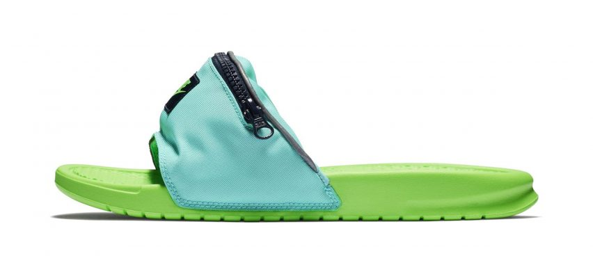 Fanny Pack sliders by Nike