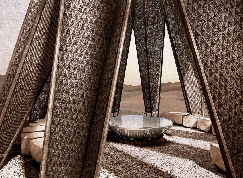 Nomad Pavilion by Dina Haddadin and Rasem Kamal