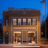 SOM converts century-old Chicago firehouse into Optimo hat factory