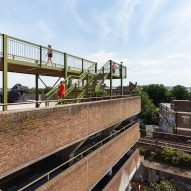 Movie reveals view of London skyline from atop Cooke Fawcett's Peckham Observatory