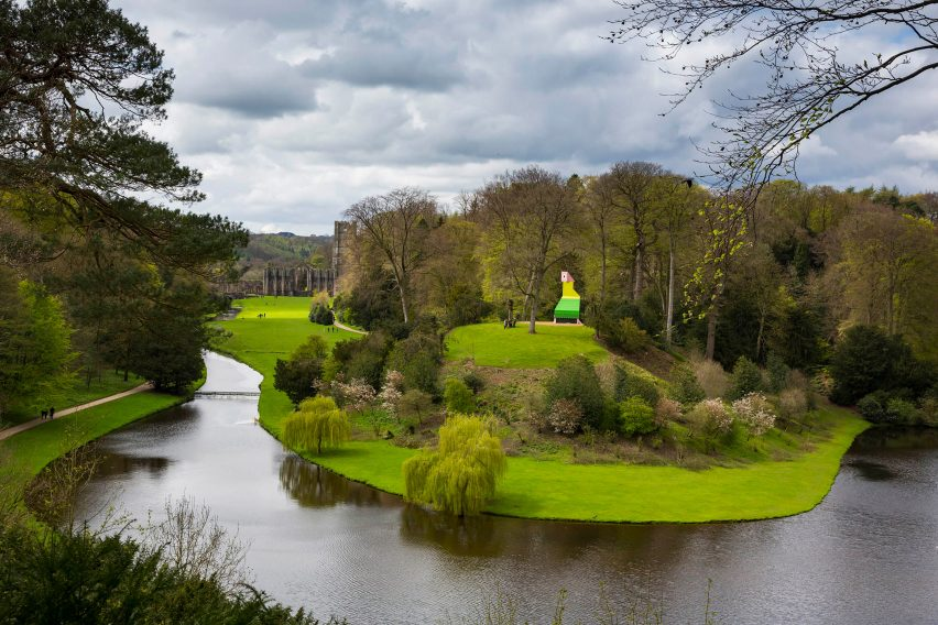 Fountains Abbey by Charles Holland, photography by Chris Lacey