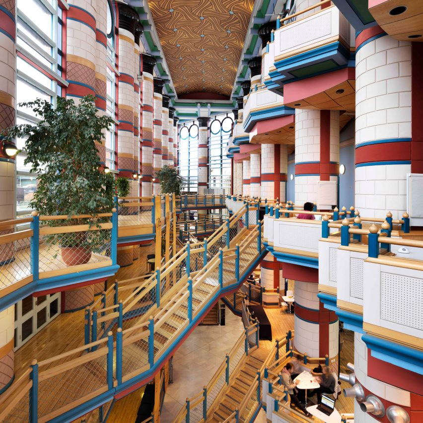 17 Postmodern Buildings Join Uks Listed Building Register