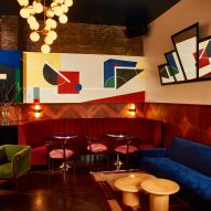 Camilla Deterre blends 20th-century design styles at Primo's bar in Tribeca